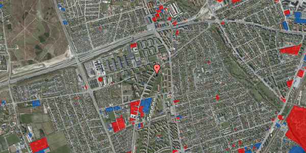 Jordforureningskort på Arnold Nielsens Boulevard 1, 3. th, 2650 Hvidovre