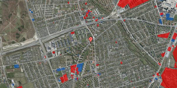Jordforureningskort på Arnold Nielsens Boulevard 2, st. 1, 2650 Hvidovre