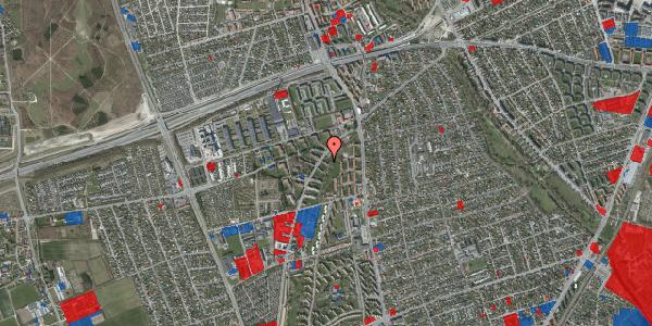 Jordforureningskort på Arnold Nielsens Boulevard 3, st. th, 2650 Hvidovre