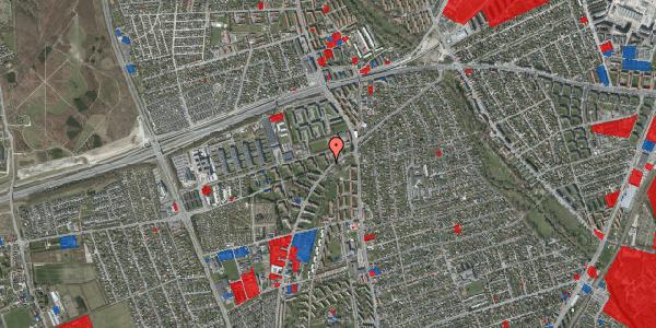 Jordforureningskort på Arnold Nielsens Boulevard 4, 3. th, 2650 Hvidovre