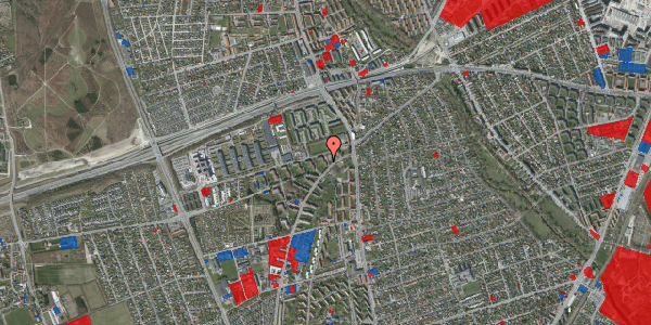 Jordforureningskort på Arnold Nielsens Boulevard 6, 1. th, 2650 Hvidovre