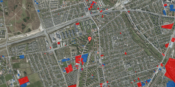 Jordforureningskort på Arnold Nielsens Boulevard 7, 1. tv, 2650 Hvidovre