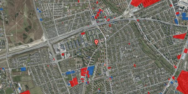 Jordforureningskort på Arnold Nielsens Boulevard 10, 1. th, 2650 Hvidovre