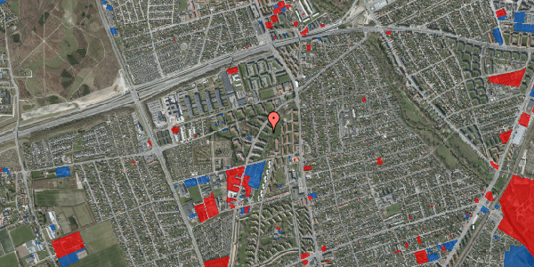 Jordforureningskort på Arnold Nielsens Boulevard 11, 1. th, 2650 Hvidovre