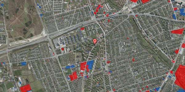 Jordforureningskort på Arnold Nielsens Boulevard 14, 1. th, 2650 Hvidovre