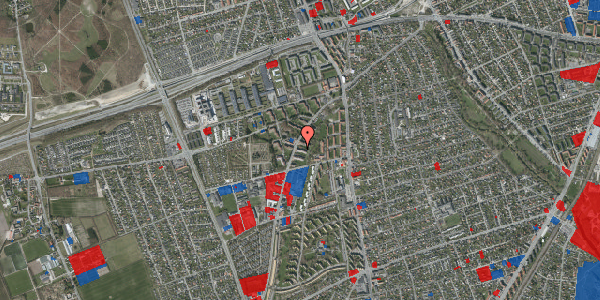 Jordforureningskort på Arnold Nielsens Boulevard 25, 1. th, 2650 Hvidovre