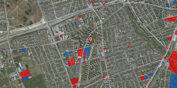 Jordforureningskort på Arnold Nielsens Boulevard 39, 1. th, 2650 Hvidovre