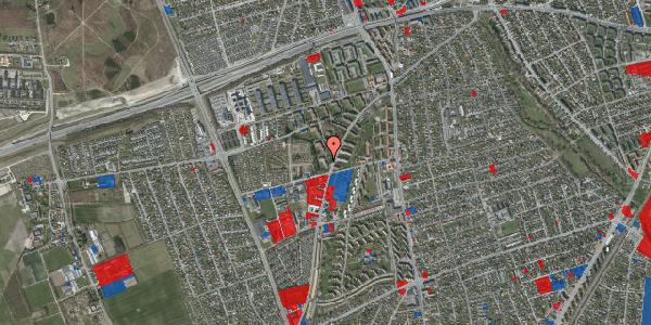 Jordforureningskort på Arnold Nielsens Boulevard 40, 1. th, 2650 Hvidovre