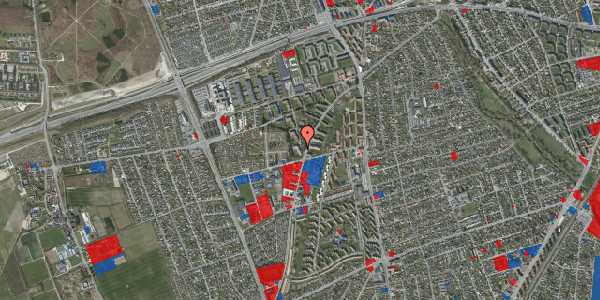 Jordforureningskort på Arnold Nielsens Boulevard 40, 1. tv, 2650 Hvidovre