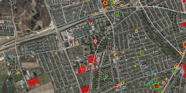 Jordforureningskort på Arnold Nielsens Boulevard 52, 3. th, 2650 Hvidovre