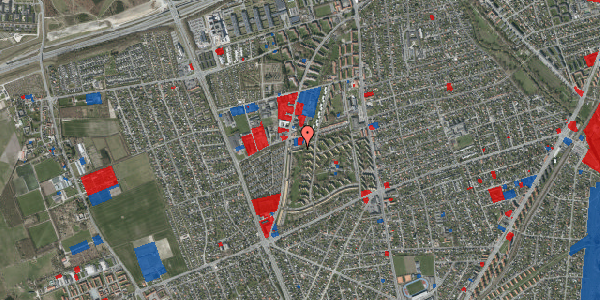 Jordforureningskort på Arnold Nielsens Boulevard 91, st. , 2650 Hvidovre