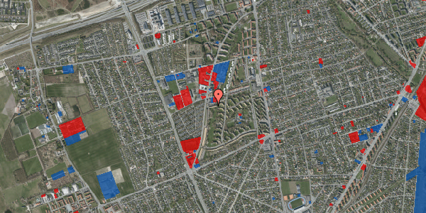 Jordforureningskort på Arnold Nielsens Boulevard 95B, 2650 Hvidovre