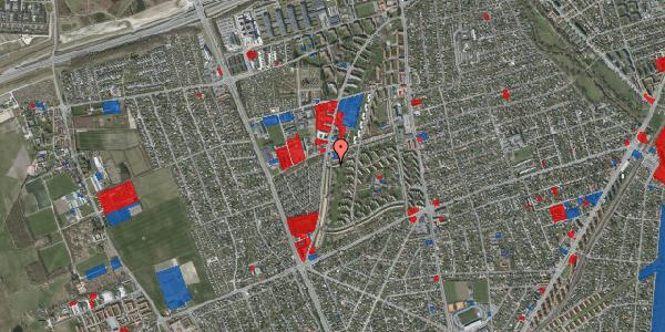 Jordforureningskort på Arnold Nielsens Boulevard 105A, 2650 Hvidovre