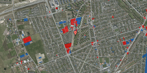 Jordforureningskort på Arnold Nielsens Boulevard 119, 2. th, 2650 Hvidovre