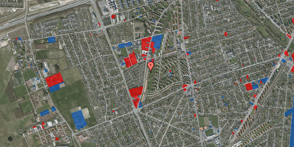Jordforureningskort på Arnold Nielsens Boulevard 119, 2. tv, 2650 Hvidovre