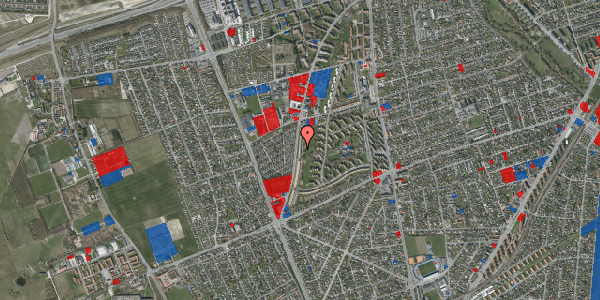 Jordforureningskort på Arnold Nielsens Boulevard 121, st. th, 2650 Hvidovre