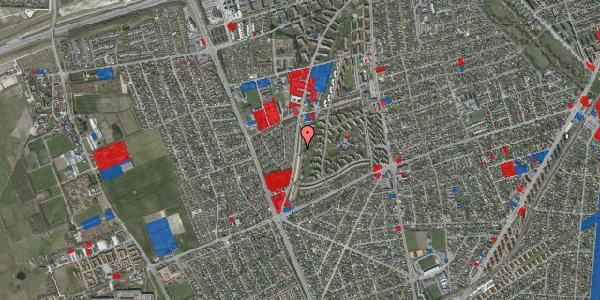 Jordforureningskort på Arnold Nielsens Boulevard 127, 1. tv, 2650 Hvidovre