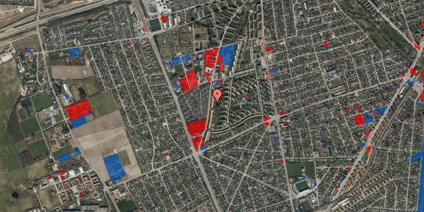 Jordforureningskort på Arnold Nielsens Boulevard 127, 2. th, 2650 Hvidovre
