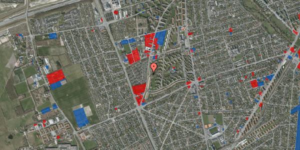 Jordforureningskort på Arnold Nielsens Boulevard 129, 1. th, 2650 Hvidovre