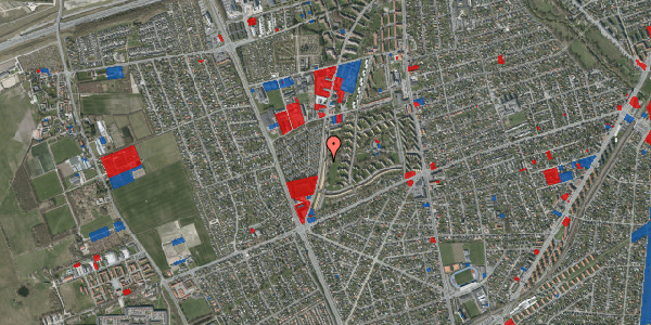Jordforureningskort på Arnold Nielsens Boulevard 131, 1. th, 2650 Hvidovre