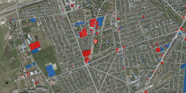 Jordforureningskort på Arnold Nielsens Boulevard 133, 2. th, 2650 Hvidovre