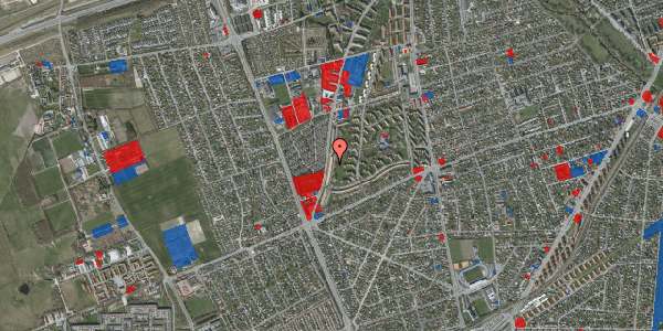 Jordforureningskort på Arnold Nielsens Boulevard 139, 1. th, 2650 Hvidovre