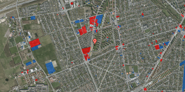Jordforureningskort på Arnold Nielsens Boulevard 141, st. tv, 2650 Hvidovre