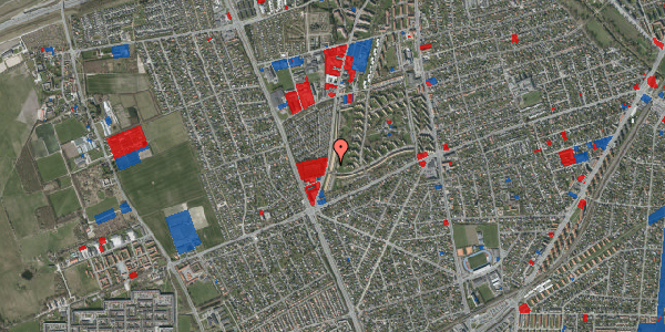 Jordforureningskort på Arnold Nielsens Boulevard 155, 1. th, 2650 Hvidovre