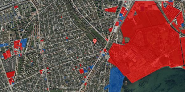 Jordforureningskort på Asminderødvej 13, 2650 Hvidovre