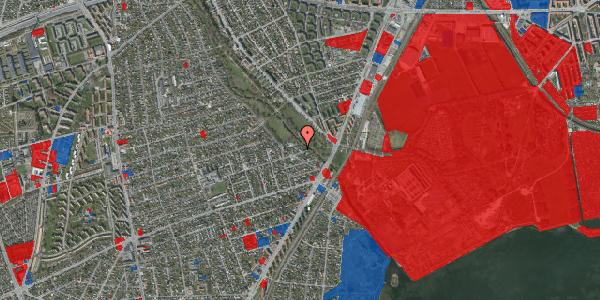 Jordforureningskort på Asminderødvej 16, 2650 Hvidovre