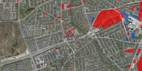 Jordforureningskort på Baunebakkevej 1, 2650 Hvidovre