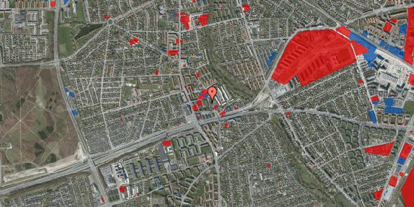 Jordforureningskort på Baunebakkevej 21, 2650 Hvidovre