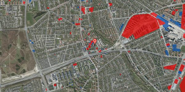 Jordforureningskort på Baunebakkevej 41, 2650 Hvidovre