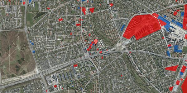 Jordforureningskort på Baunebakkevej 43, 2650 Hvidovre