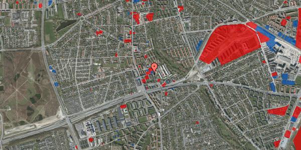 Jordforureningskort på Baunebakkevej 55, 2650 Hvidovre