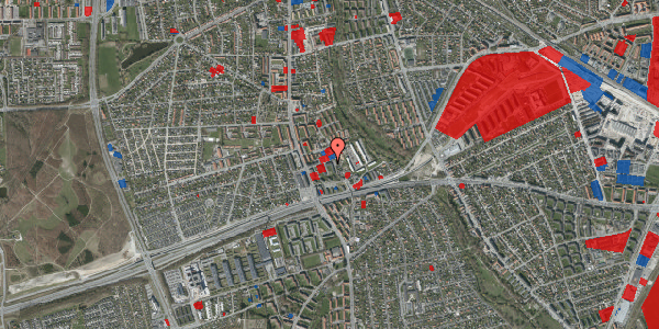 Jordforureningskort på Baunebakkevej 59, 2650 Hvidovre