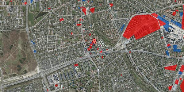 Jordforureningskort på Baunebakkevej 73, 2650 Hvidovre
