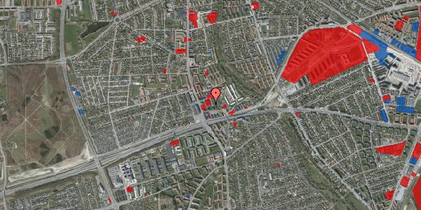 Jordforureningskort på Baunebakkevej 91, 2650 Hvidovre