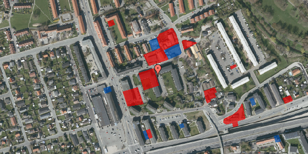 Jordforureningskort på Baunebakkevej 121, 2650 Hvidovre