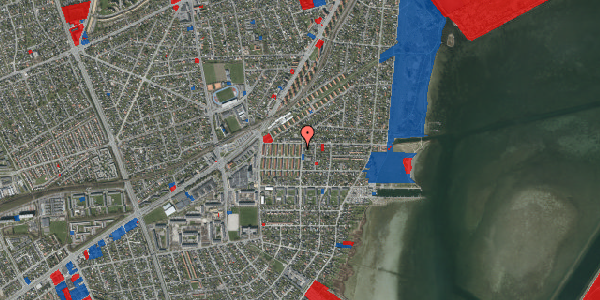 Jordforureningskort på Bavnevej 4, st. tv, 2650 Hvidovre