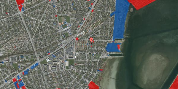 Jordforureningskort på Bavnevej 5A, 2650 Hvidovre