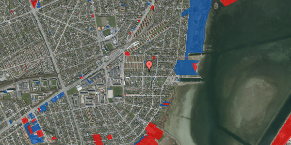 Jordforureningskort på Bavnevej 7, 2650 Hvidovre
