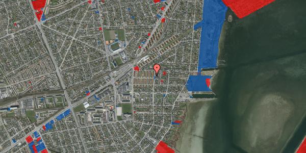 Jordforureningskort på Bavnevej 8, st. th, 2650 Hvidovre