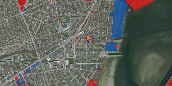 Jordforureningskort på Bavnevej 8, 1. th, 2650 Hvidovre