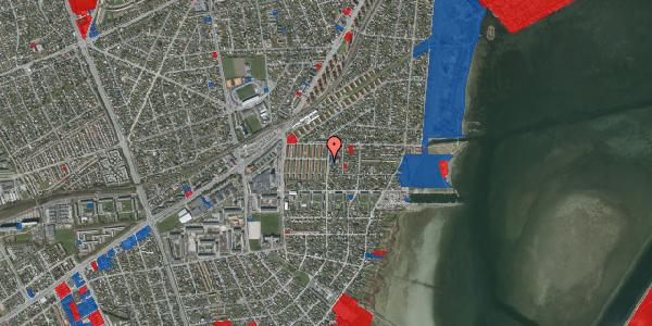 Jordforureningskort på Bavnevej 10, 1. th, 2650 Hvidovre