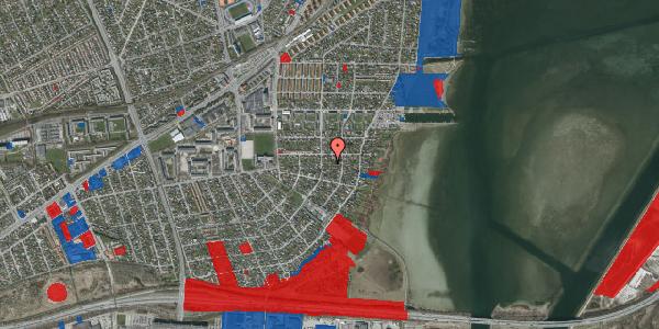 Jordforureningskort på Bavnevej 27A, 2650 Hvidovre