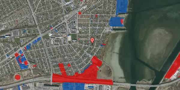 Jordforureningskort på Bavnevej 33, 2650 Hvidovre