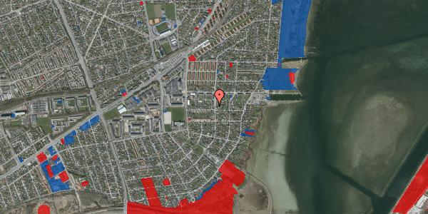 Jordforureningskort på Bavnevej 34, 2650 Hvidovre