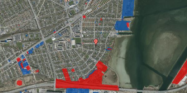 Jordforureningskort på Bavnevej 46A, 2650 Hvidovre