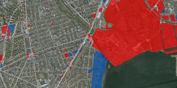 Jordforureningskort på Beringgårdsvej 1A, 2650 Hvidovre